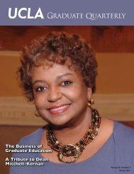 Graduate Quarterly - Winter 2011 - UCLA Graduate Division