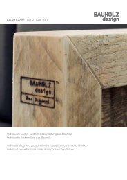 Individuelle Laden- und Objekteinrichtung aus Bauholz Individuelle ...