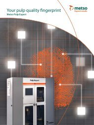 Your pulp quality fingerprint - Metso