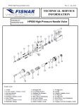 HP600 High Pressure Needle Valve - Fisnar - Page 7