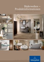 W orld of Bathrooms – Product information - Dom Materialis