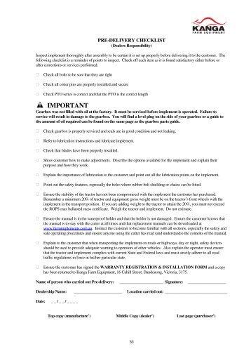 Kanga Slasher manual