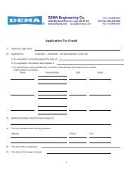 Credit Application Download