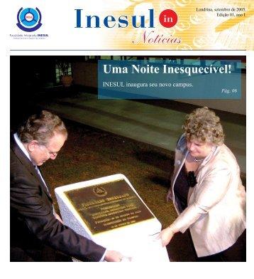 Setembro de 2005 - Inesul