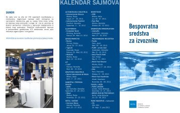 Promotivna brošura Programa
