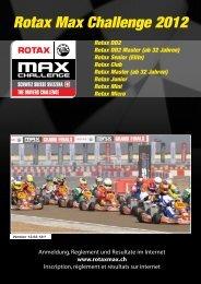 Rotax Club Rotax Master - RotaxMax