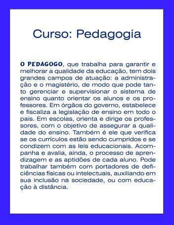 Curso: Pedagogia - Inesul