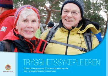 Brosjyre om trygghetssykepleier - Bergen kommune