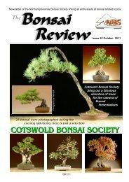 Bonsai The Review - Federation of British Bonsai Societies