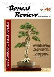 Bonsai Review - Federation of British Bonsai Societies