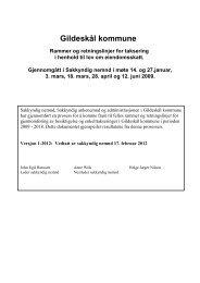 Rammer og retningslinjer Versjon 1 - 2012 - Lokal tjenestekatalog