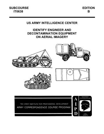 us army intelligence center identify engineer and