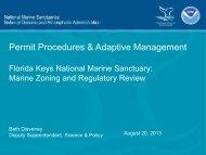 Permit Procedures & Adaptive Management - NOAA