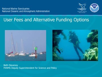 User Fees and Alternative Funding Options - NOAA