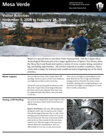 Winter 2008-2009 Visitor Guide