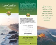 Leo Carrillo State Park - Adventures