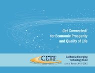 Published Report PDF - California Emerging Technology Fund