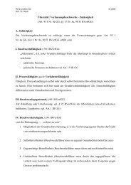 Übersicht: Verfassungsbeschwerde - Lehrstuhl für Öffentliches ...