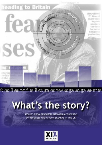 What's the story? - Article 19