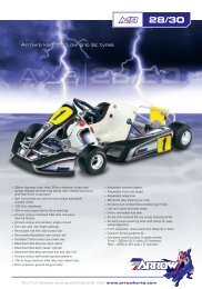 Download Complete Brochure (980kb PDF) - Arrow Karts