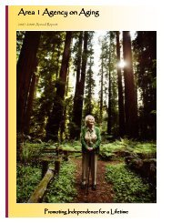 Annual Report-Rev 11-4-08.pub - Area 1 Agency on Aging