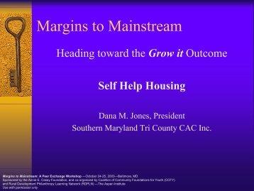 Self-Help Housing - Community Strategies Group