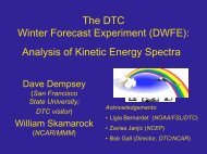 Analysis of DWFE Results: Impact of Damping in NMM and ARW