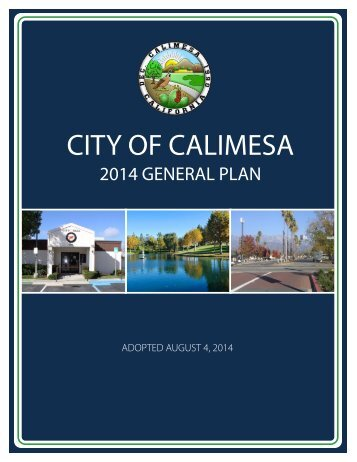 General Plan - City of Calimesa
