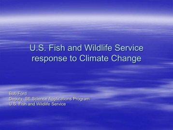 Robert Ford - U.S. Fish & Wildlife Service