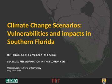 Climate Change Scenarios - The Florida Reef Resilience Program
