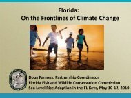 Doug Parsons - Florida Fish & Wildlife Conservation Commission