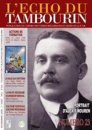 Echo du Tambourin n°23 - l'echo du tambourin - Free