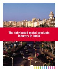 in India The fabricated metal products industry in ... - Teknikföretagen