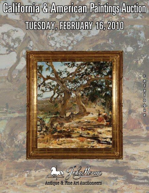 California & American Paintings Auction - California Art Auction