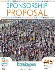 sponsorship proposal - National MS Society, South Florida Chapter