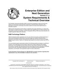 Enterprise Edition and Next Generation System Requirements ...