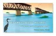 Corridor Interpretive Master Plan - Florida Keys Scenic Corridor ...