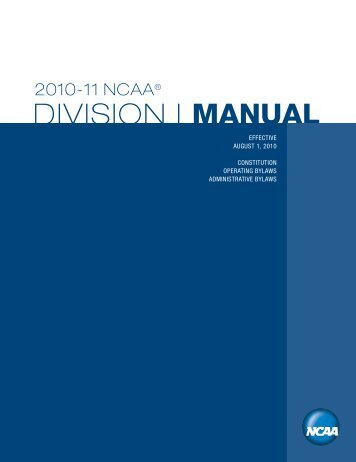 2010-11 Manual - George Mason University Athletics