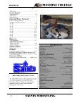 saints wrestling - Limestone Athletics - Page 2