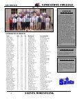 saints wrestling - Limestone Athletics - Page 5