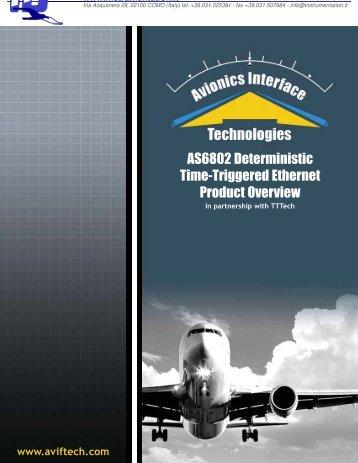 Time trigger ethernet - INSTRUMENTATION DEVICES