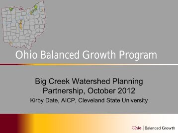 Refining and more effectively implementing the Big Creek Plan