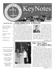 Volume 23, Issue 2 - Golden Key International Honour Society