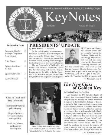Volume 23, Issue 2 - Golden Key International Honour Society