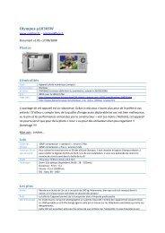 Test de Olympus - mju 1030 SW - ophilipp.com - Free