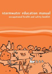 Occupational Health and Safety booklet - Waterwatch Victoria