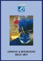 lefranc & bourgeois belle arti - Artecolor - Belle Arti - Cornici - Hobby ...