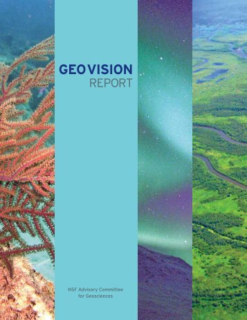 GEO VISION - National Science Foundation