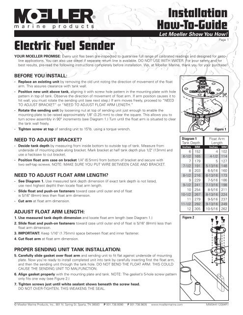 Moeller Fuel Gauge Wiring Diagram