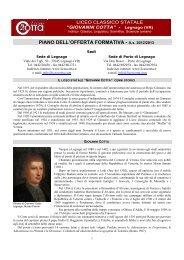 PIANO DELL'OFFERTA FORMATIVA - A.s. 2012/2013 - Sogisnc.it